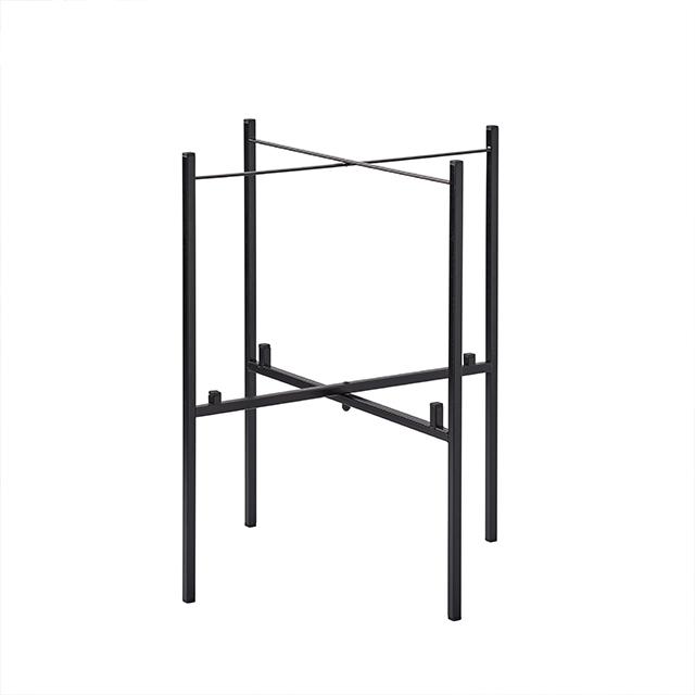 Tisch klappbar für 2 Tabletts 46/39 cm schwarz