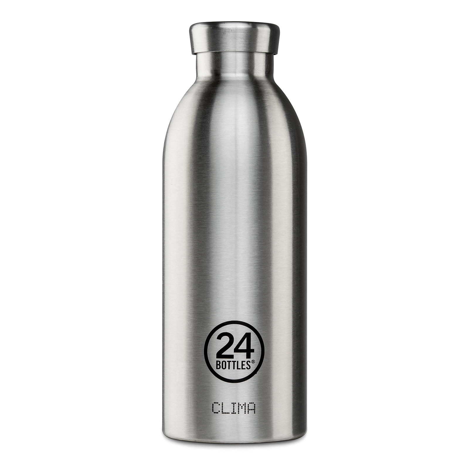 24Bottles Clima 850 ml Trinkflasche, Farbe: clima steel