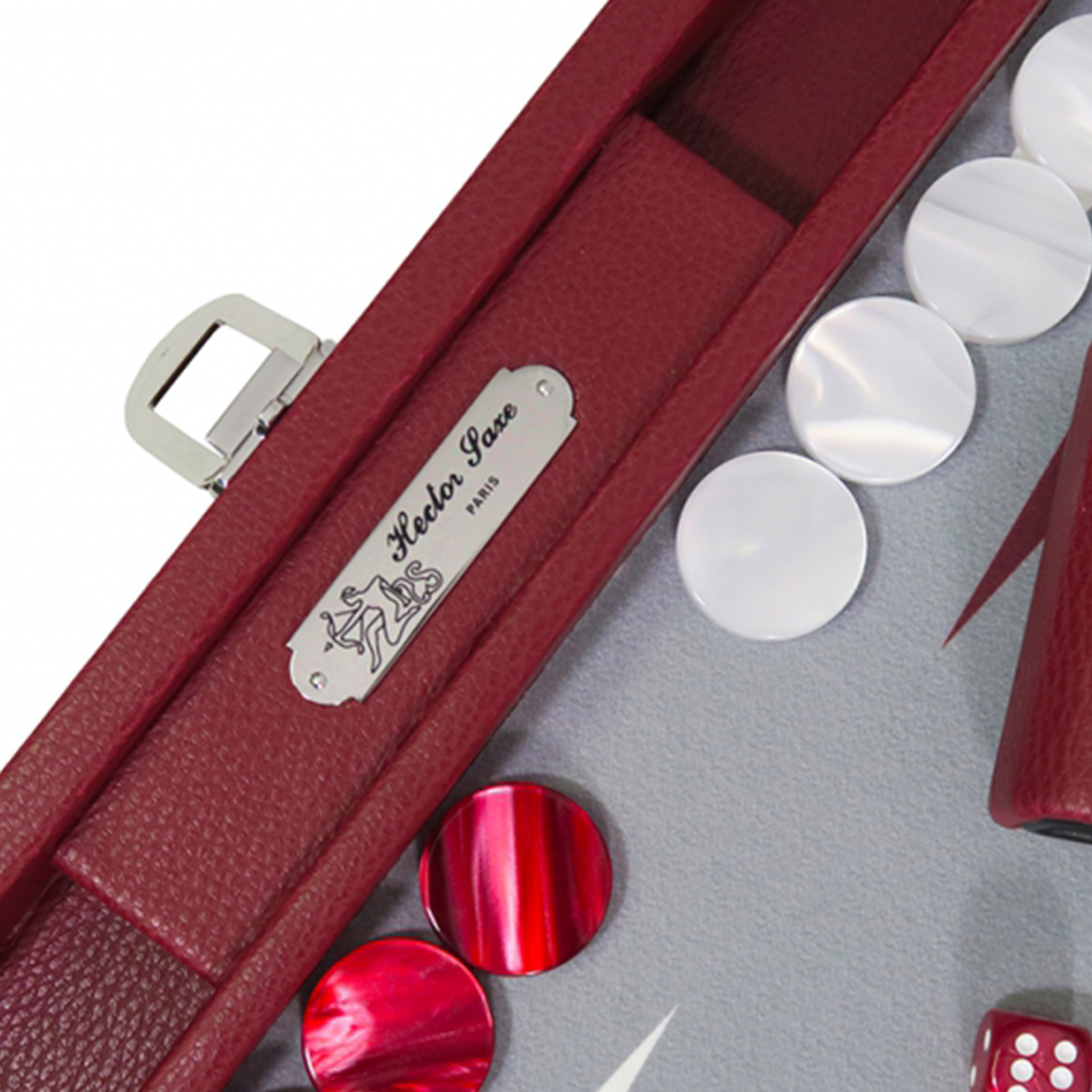 Backgammon - Basile Morgon  Medium          B25 x T37   (geöffnet B50 x T37) Hector Saxe