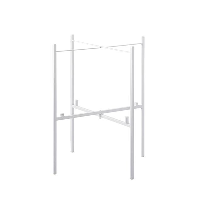 Tisch  klappbar für 2 Tabletts 46/39 cm weiß
