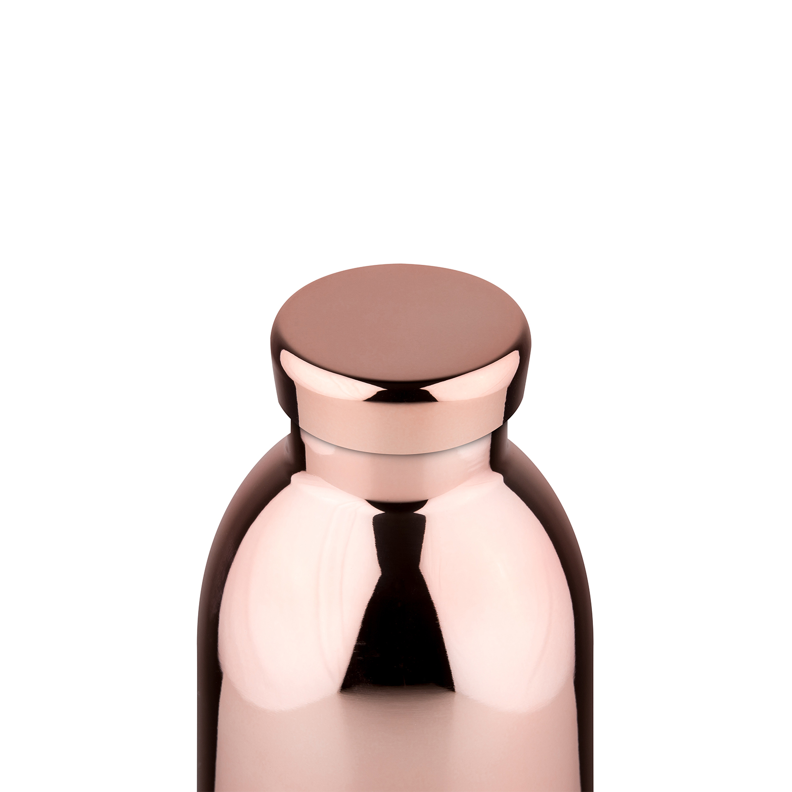 24Bottles Clima 500 ml Trinkflasche, Farbe: rose gold