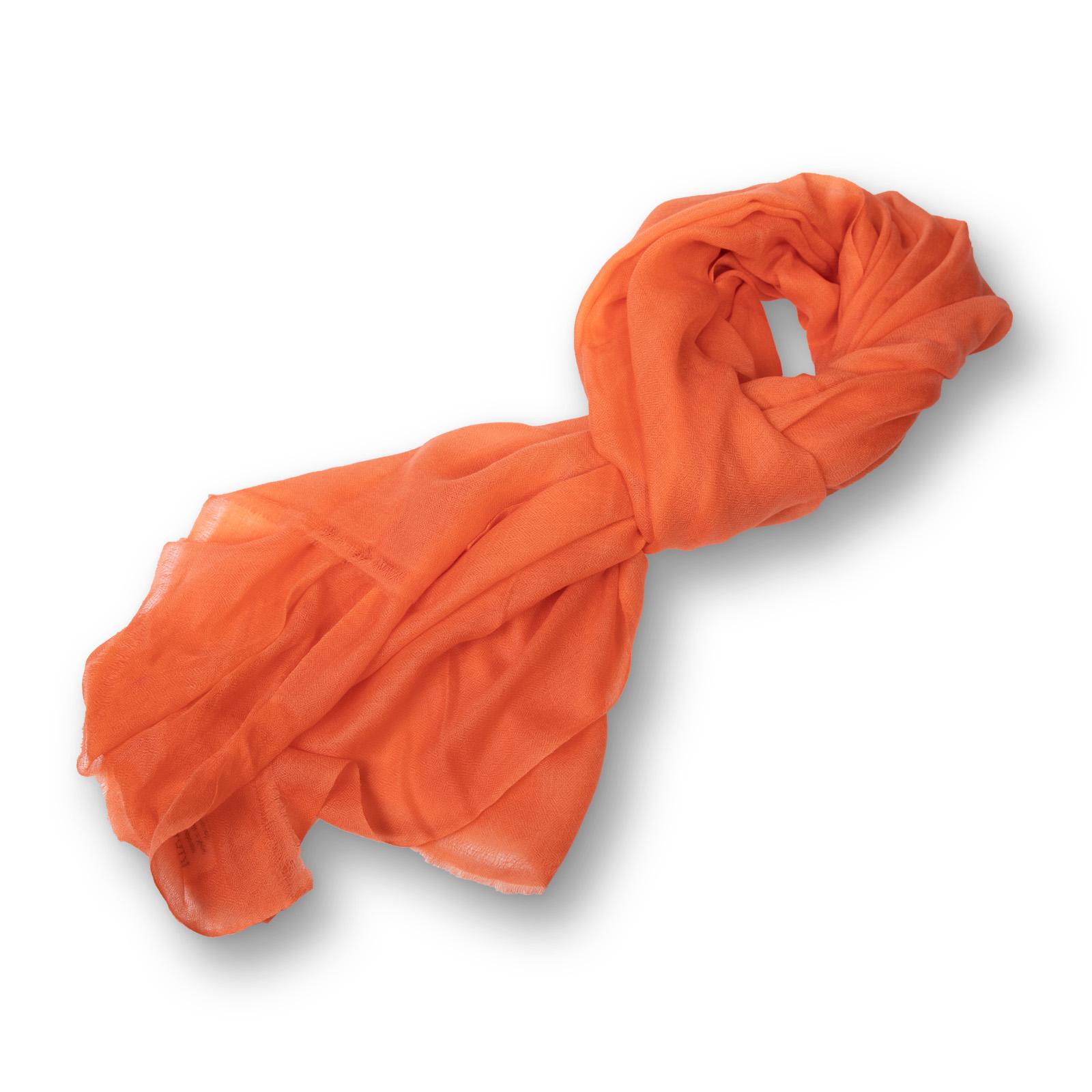 Pashmina - 100%  Cashmere  einfarbig aus Nepal  70x200 cm  apricot
