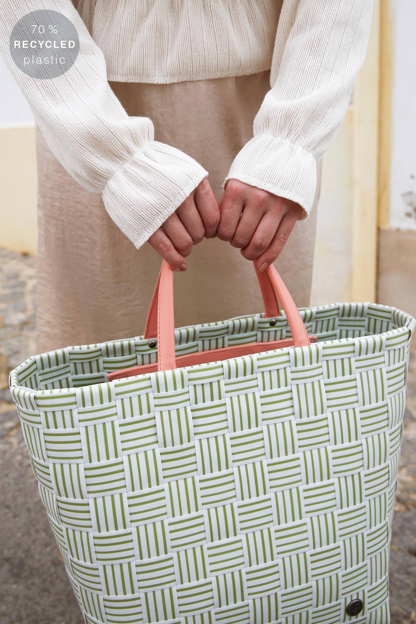 JOY Shopper aus 70% recyceltem Plastik olive