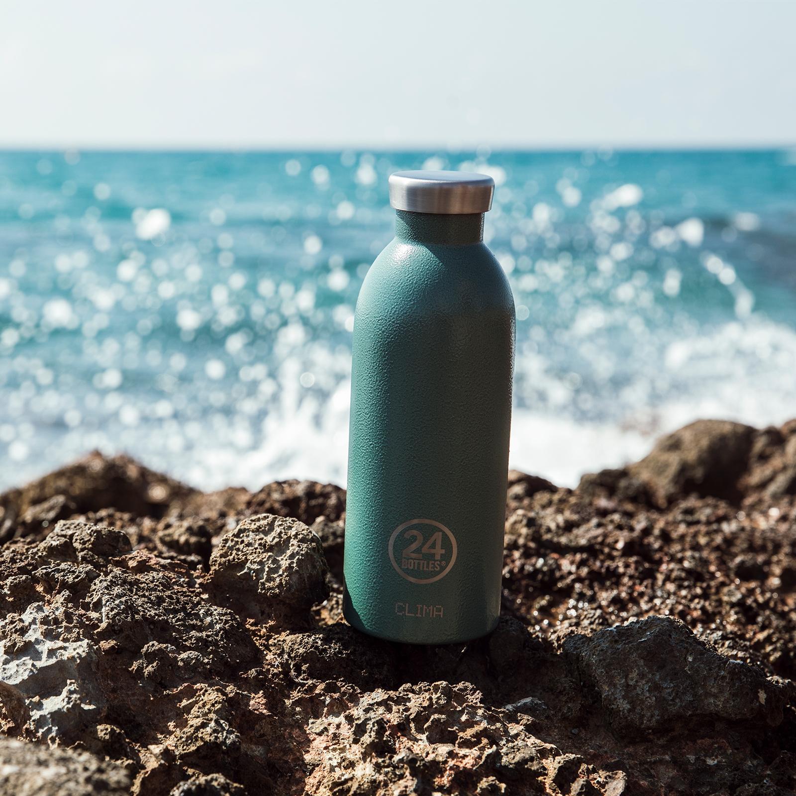 24Bottles Clima 500 ml Trinkflasche, Farbe: moosgrün