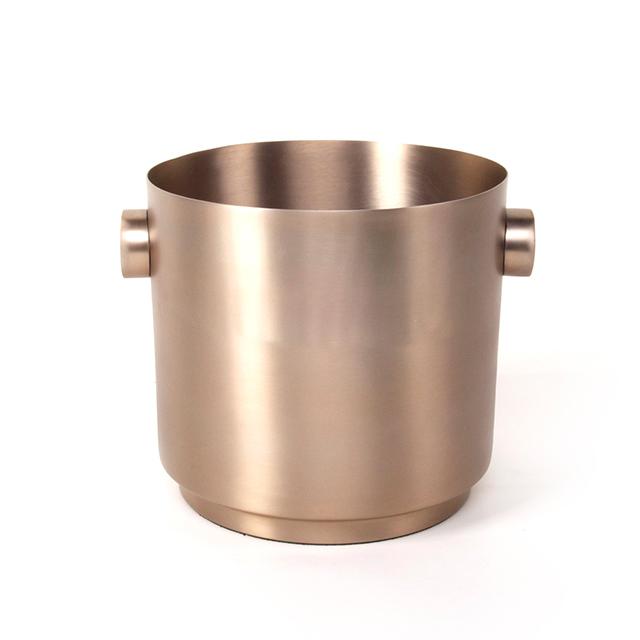 Champagnerkühler Rondo Edelstahl soft Kupfer XLBoom