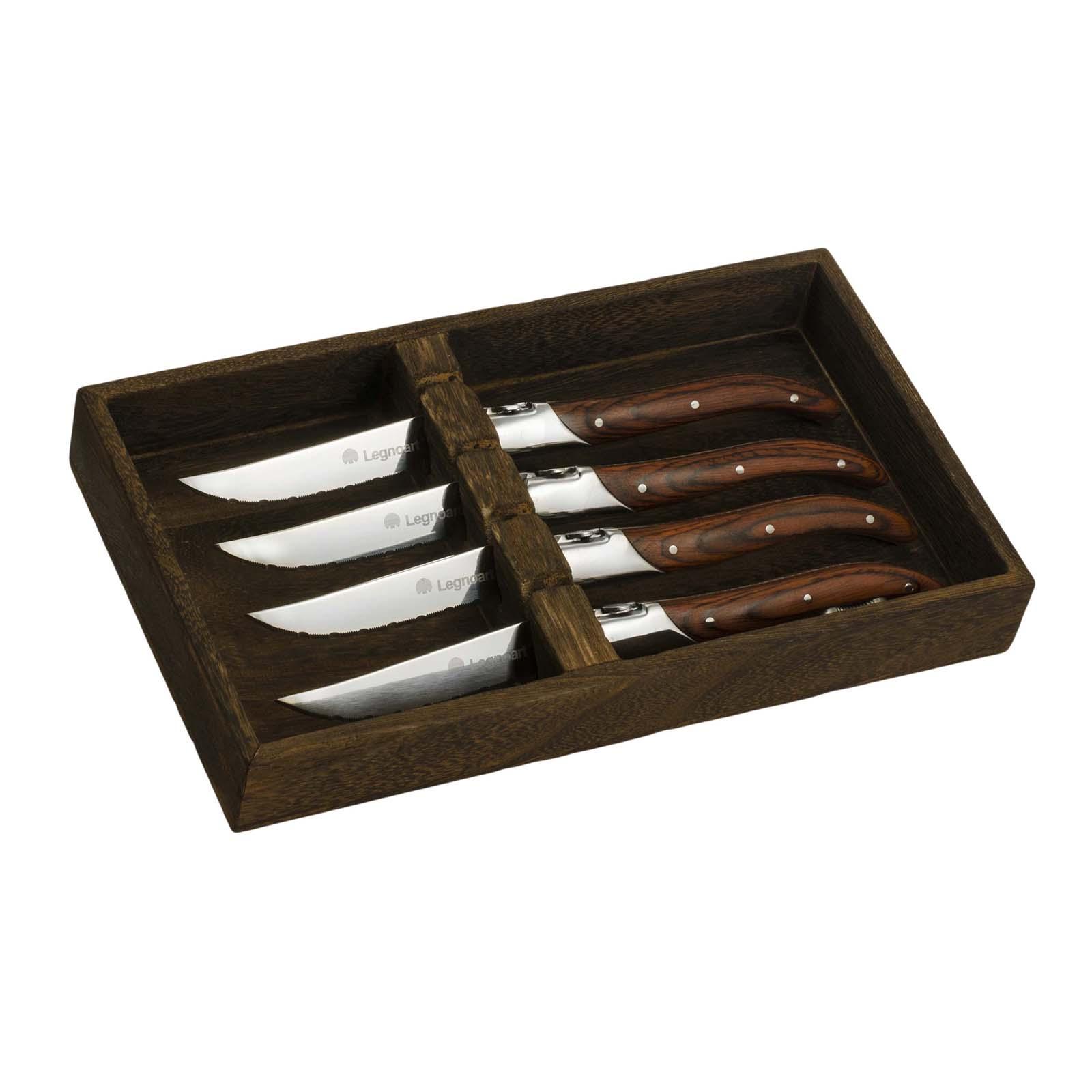 Steakmesser-Set von Legnoart