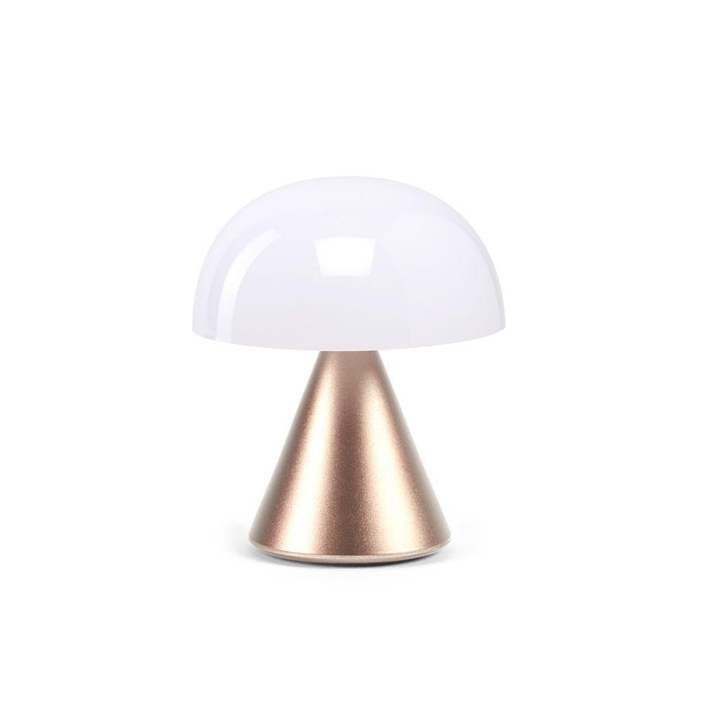 MINA Mini- LED-Lampe von Lexon soft gold