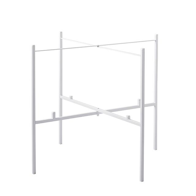 Tisch klappbar für 2 Tabletts 65/46 cm weiß