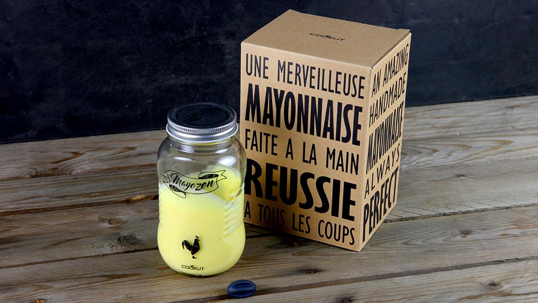 Mayonnaise-Shaker MAYOZEN aus Glas von Cookut