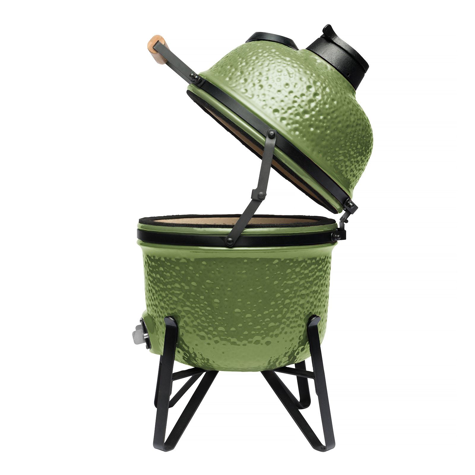 Keramik BBQ (klein) grün 33 cm - Ron