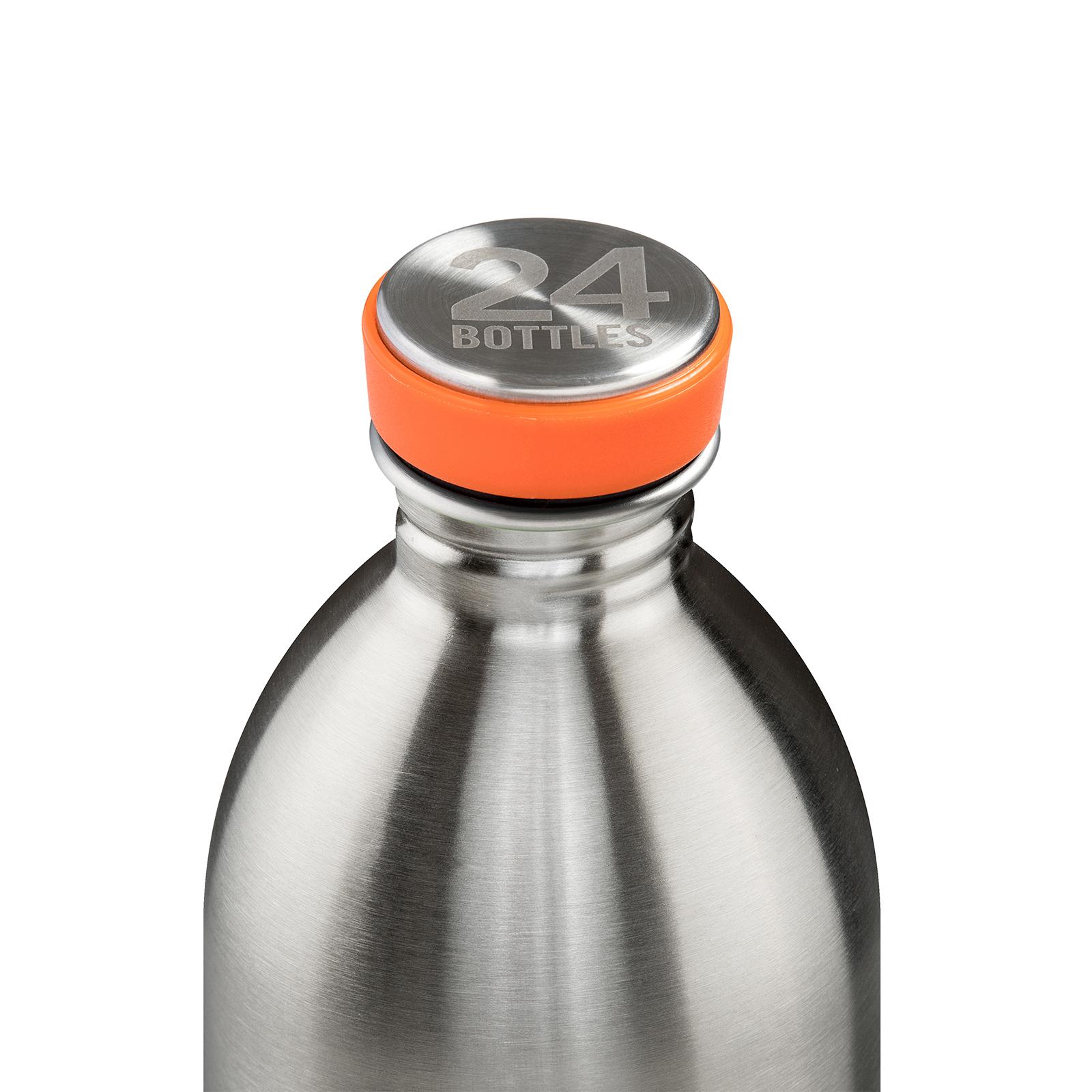 24Bottles Urban 1000 ml Trinkflasche, Farbe: Edelstahl