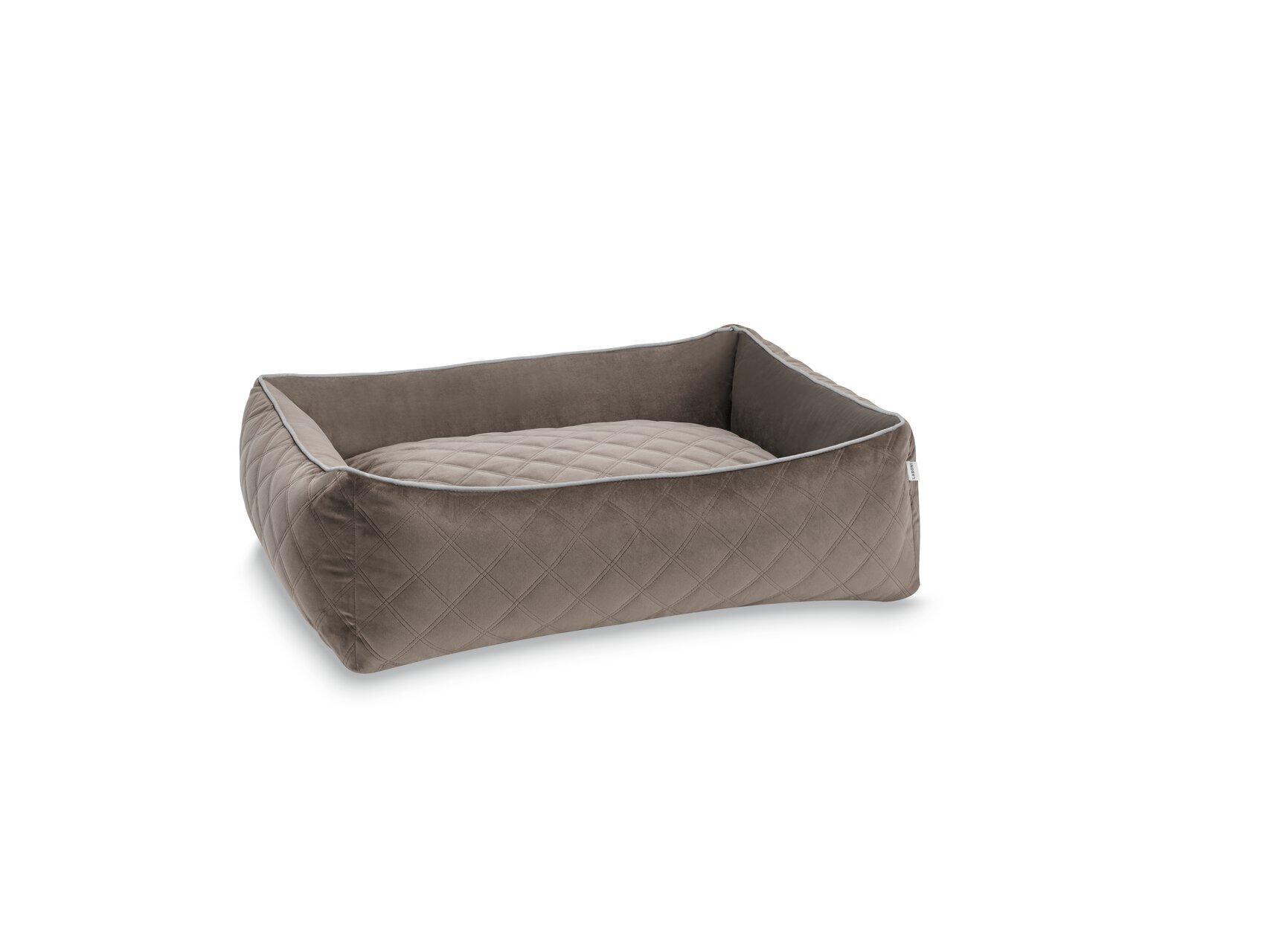 Bezug CLASSIC Hundebett L - OXFORD - Stone