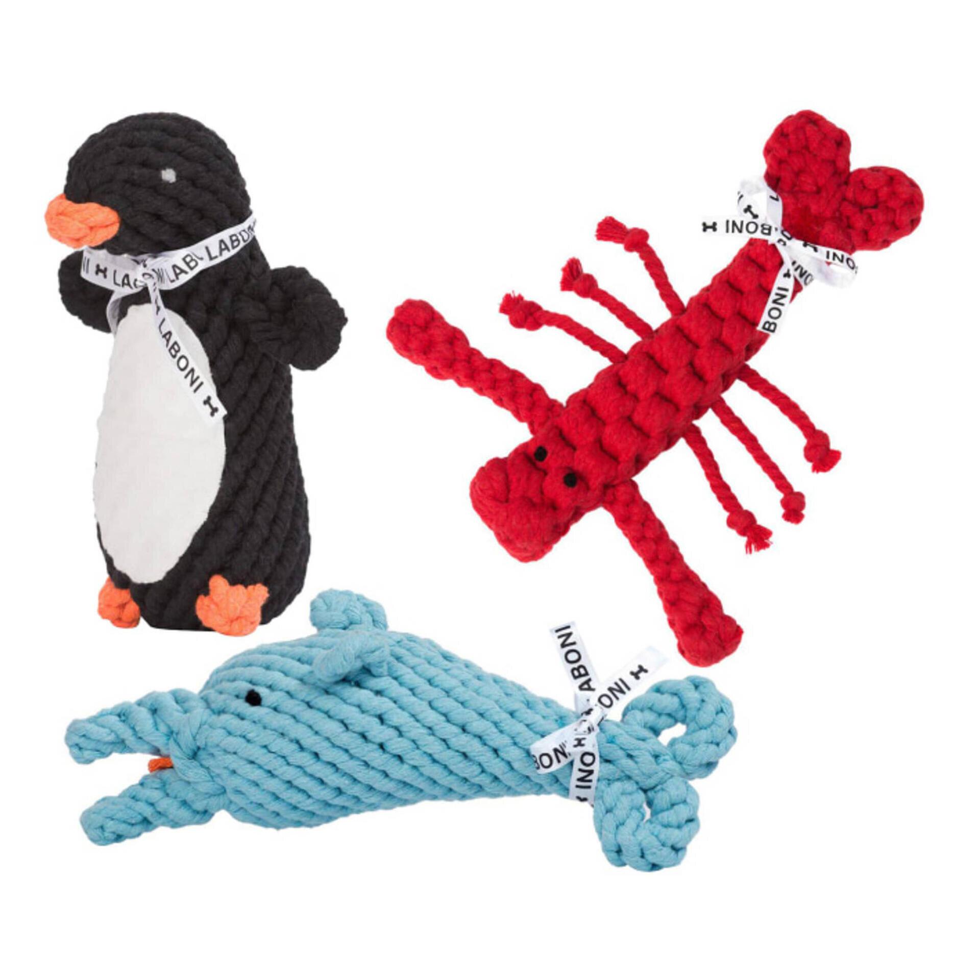 Big Ocean - Spielzeug-Set für Hunde