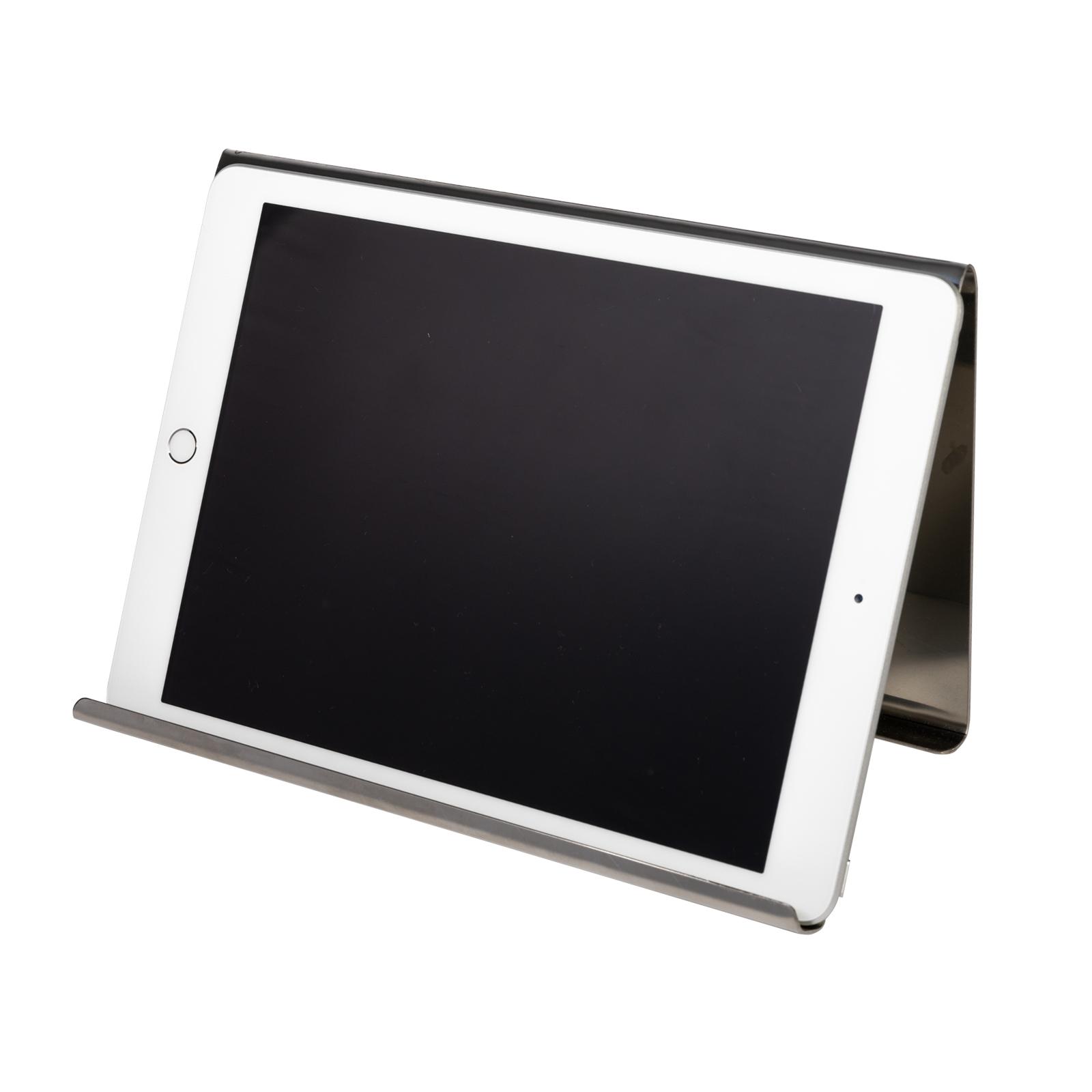 Universal Ständer Halter für Tablets und E-Reader aus Edelstahl