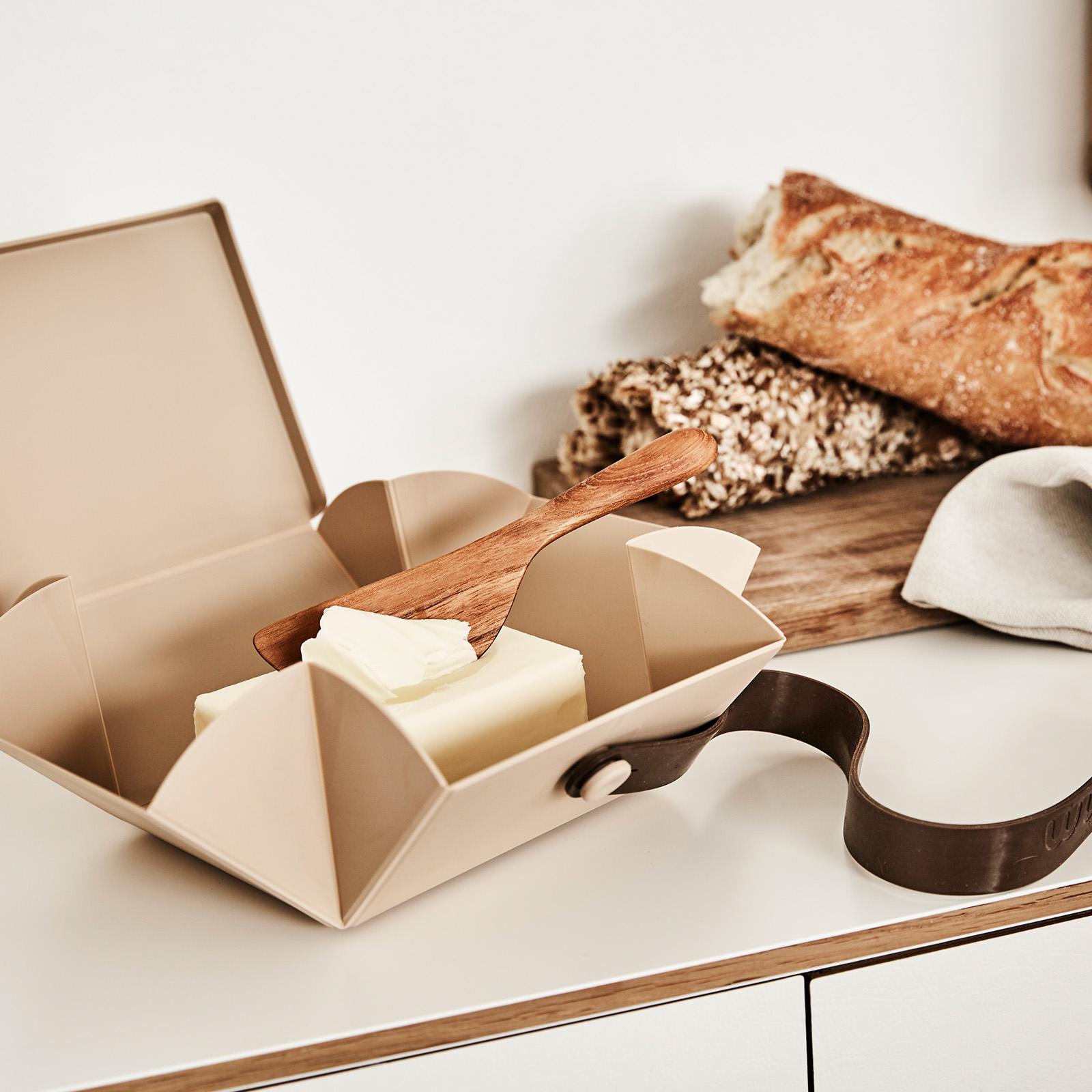 Umweltbewusste Lunchbox, faltbar 100% frei von Parabenen und Phthalaten