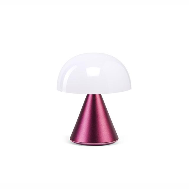 MINA Mini- LED-Lampe von Lexon dunkelrot