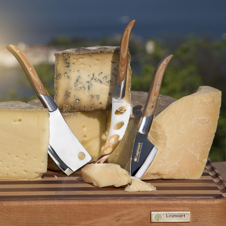 Käsemesser Set für Hartkäse, Weichkäse, halbharten Käse