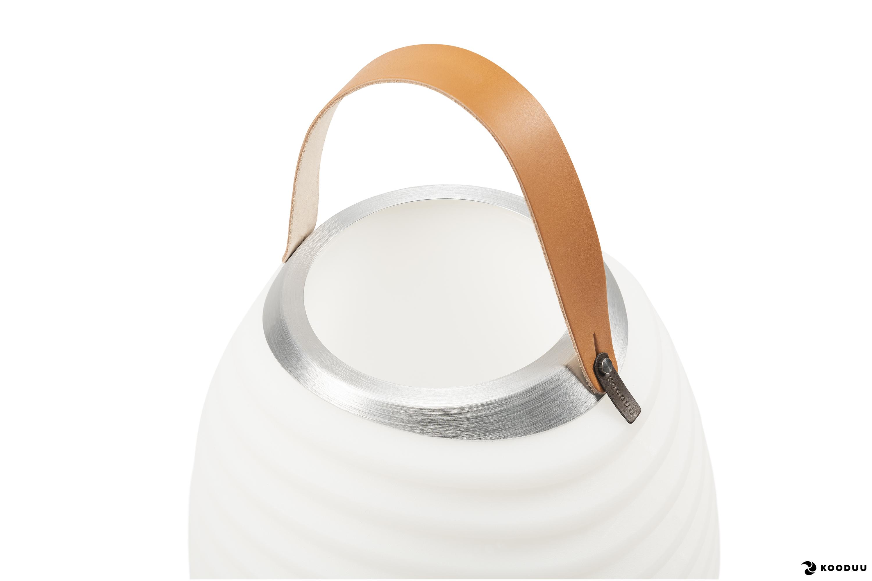 KOODUU Synergy 50 Stereo Lautsprecher, LED-Leuchte, Weinkühler- und Bluetooth-Sound-System