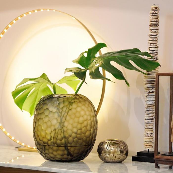 Designer Leuchte: Circle Medium Messing 300 mm