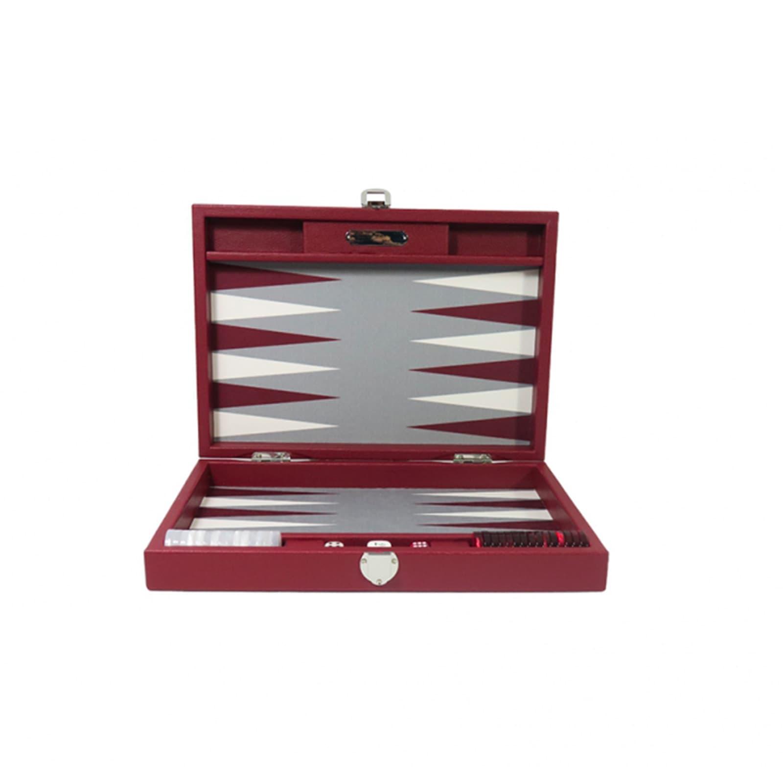 Backgammon -  Canvas  (25 x 37/geöffnet 50 x 37 in cm) Basile  medium Hector Saxe