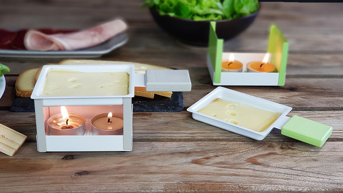 YETI faltbares Raclette-Stövchen,grün, YETIBL