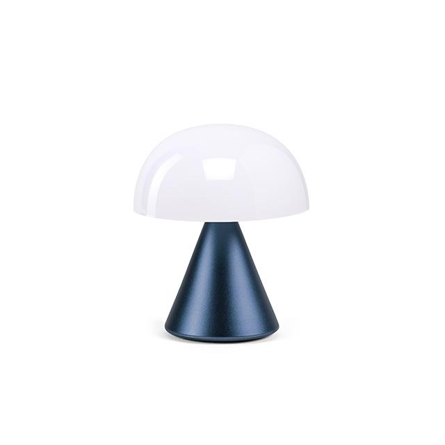 MINA Mini- LED-Lampe von Lexon dunkelblau