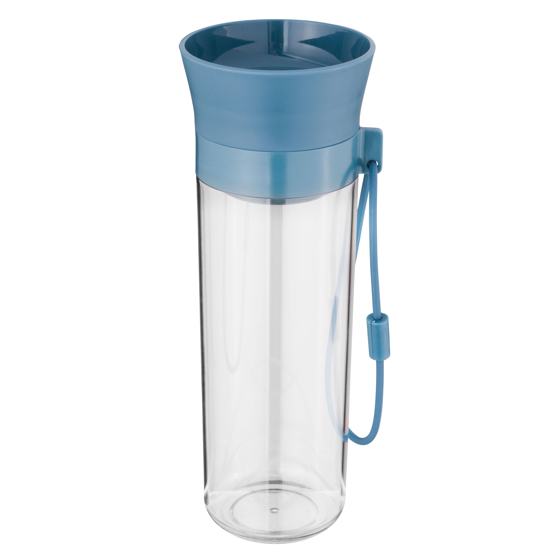 Wasserflasche 0,5 L, blau